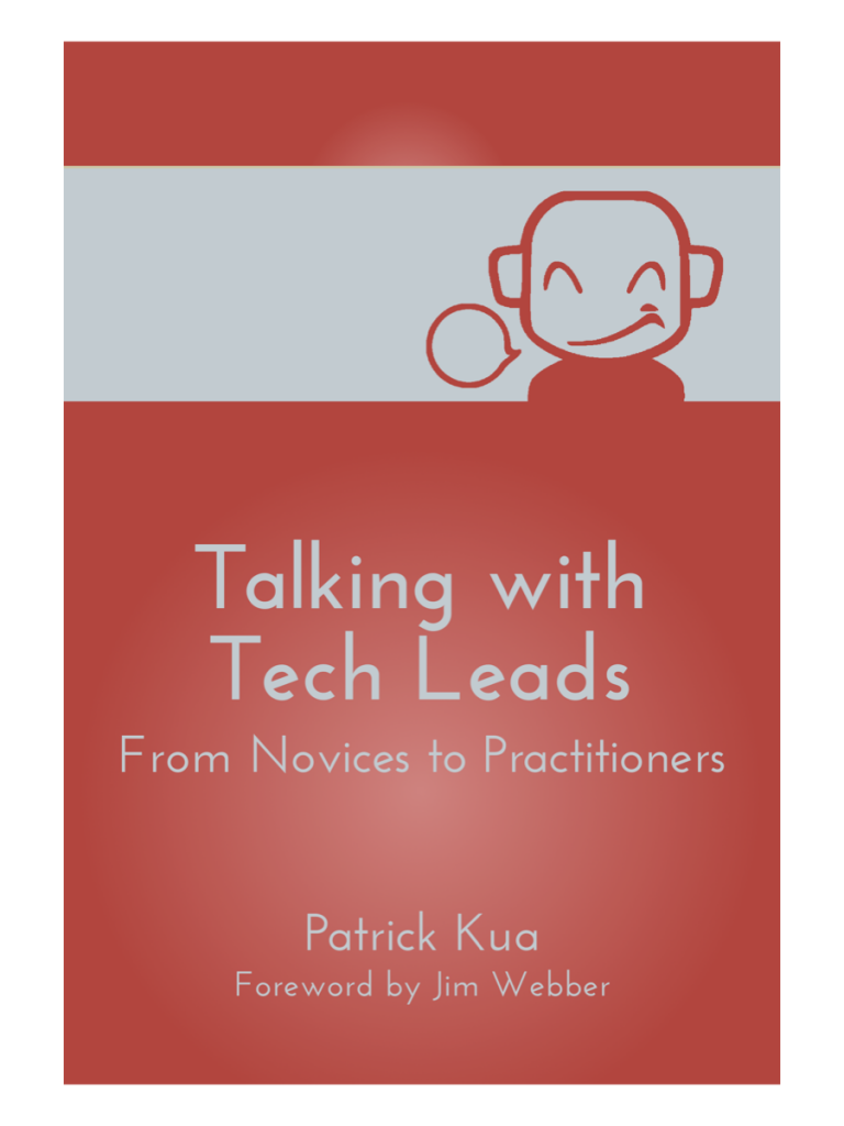 Talking with Tech Leads Book Cover