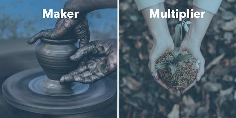 Maker vs Multiplier Banner