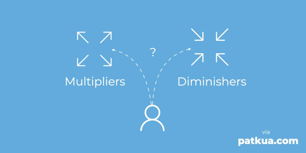 Multipliers vs Diminishers